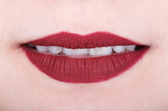 Matte lip color dries lips and shows lines causing an aged look to your appearance.